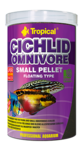 Tropical Cichlid Omnivore Small Pellet 1l