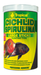 Tropical Cichlid Spirulina Large Sticks 250ml